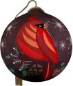 Ne'Qwa Art 7211106 Seasons Greetings Cardinal Ornament