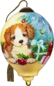 Ne'Qwa Art 7211111 Puppy With Tree And Presents Ornament