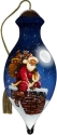 Ne'Qwa Art 7211114 Santa On Chimney With Sack Of Toys Ornament