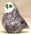 Orient and Flume 1041 Snowy Owl Figurine