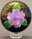 Orient and Flume 2499 Camellia Iridescent Paperweight