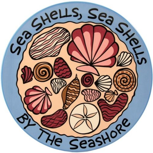 Special Sale 4017355 Our Name is Mud 4017355 Seashells by the Seashore Platter