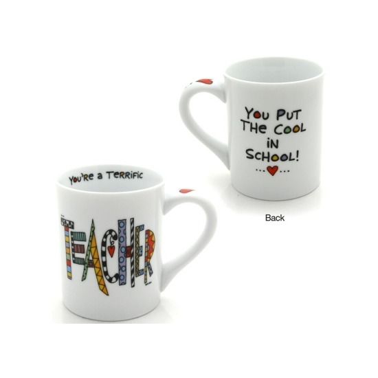Special Sale 4024420 Our Name is Mud 4024420 Teacher Mug