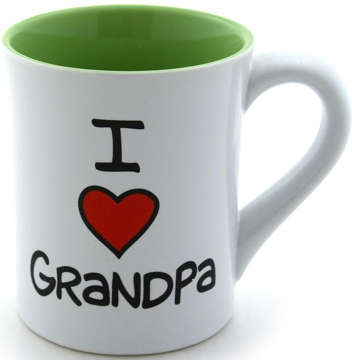 Special Sale 4026596 Our Name is Mud 4026596 I Heart Grandpa Mug