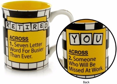 Our Name is Mud 4050718 Mug Retired Crossword