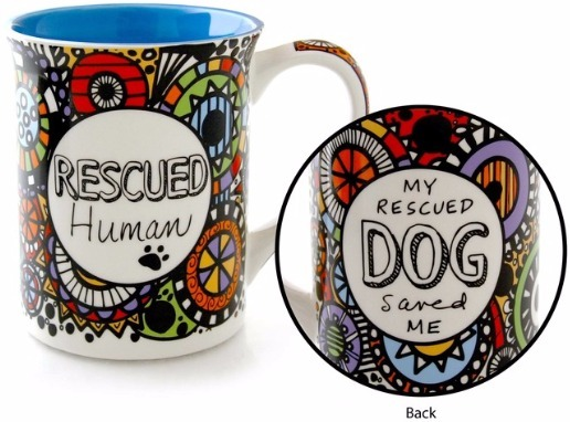 Our Name is Mud 4054445 Mug Cuppa Rescued Human