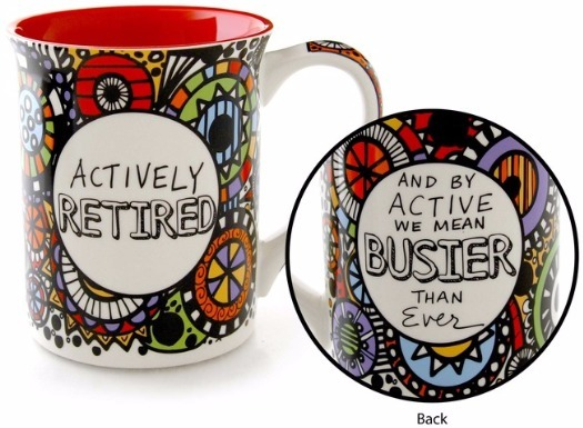 Our Name is Mud 4054453 Mug Cuppa Retired Activel