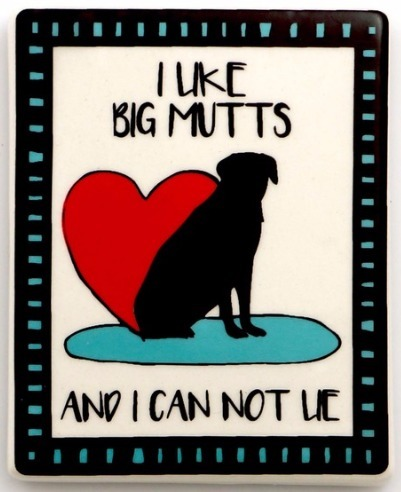 Our Name is Mud 4057143 Magnet Dog Big Mutts