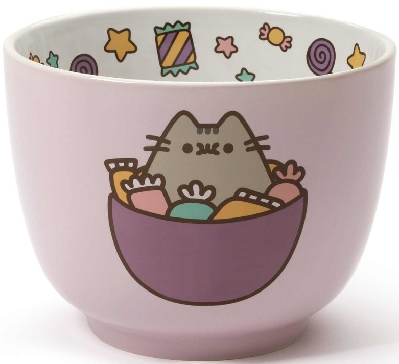 Our Name is Mud 6001937N Pusheen Bowl Large Candy B