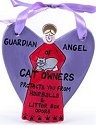 Our Name is Mud 23503 Guardian Angel Ornament