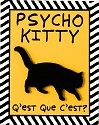 Our Name is Mud 4020618 Psycho Kitty Magnets