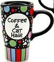 Our Name is Mud 4020626 Cat Hair Travel Mug