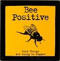 Our Name is Mud 4020652 Bee Positive Plaque