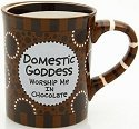 Our Name is Mud 4020694 Domestic Goddess Coffee Mug