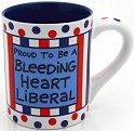 Our Name is Mud 4023026 Bleeding Heart Liberal Mug