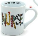 Our Name is Mud 4024418 Nicest Nurse Mug