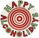 Our Name Is Mud 4024438 Happy Alco-Holidays Coaster
