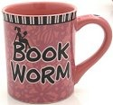 Our Name is Mud 4024600 Book Worm Mug