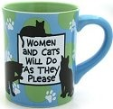 Our Name is Mud 4026105 Women & Cats Mug
