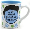 Our Name is Mud 4026107 Cat Furniture Mug