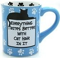 Our Name is Mud 4026110 Cat Hair Mug
