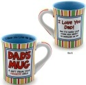 Our Name is Mud 4026941 I Love You Dad Mug