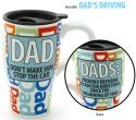 Our Name is Mud 4033433 Dad Travel Mug Don't Stop This Car