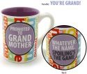 Our Name is Mud 4033446 Promoted Grandmother 16 Oz Mug