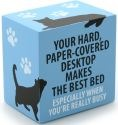 Our Name is Mud 4035983 Paper Covered Desk Cat Plaque
