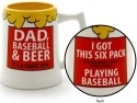 Our Name is Mud 4038334 Baseball and Beer Stein