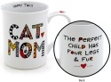 Special Sale 4041508 Our Name is Mud 4041508 Cuppa Cat Mom Mug