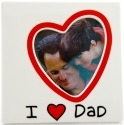 Our Name is Mud 4041701 I Heart Dad Photo Frame