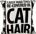 Our Name is Mud 4041718 Cat Hair Pillow