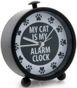 Our Name is Mud 4041720 Cat Clock