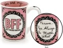 Our Name is Mud 4041742 Bff Pink Mug