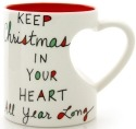 Our Name is Mud 4048735 Mug Christmas Heartshape