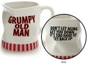 Our Name is Mud 4048767 Mug Novelty Grumpy Man