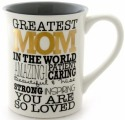 Our Name is Mud 4053458 Mug Greatest Mom Gold