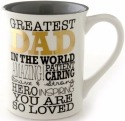 Our Name is Mud 4053459 Mug Greatest Dad Gold