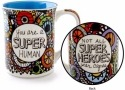 Our Name is Mud 4054454 Mug Cuppa Super Human