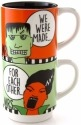 Our Name is Mud 4054488 Mug Stack Frankenstein