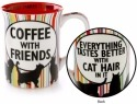 Our Name is Mud 4054513 Mug Cat Coffee Friends