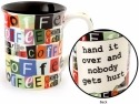 Our Name is Mud 4054927 Ransom Note Mug