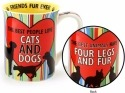 Our Name is Mud 4056390 Mug Cats and Dogs