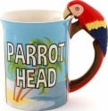 Our Name is Mud 6000154 Parrot Head Mug