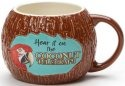 Our Name is Mud 6001322 Margaritaville Coconut Telegraph Mug
