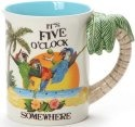 Our Name is Mud 6001323 Margaritaville 5 O'clock Somewhere Mug