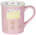 Our Name Is Mud 6003669 Birthday Cake Glitter Mug