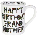 Our Name Is Mud 6003675 Cuppa Happy Birthday Grandmother Mug