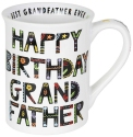 Our Name Is Mud 6003676 Cuppa Happy Birthday Grandfather Mug